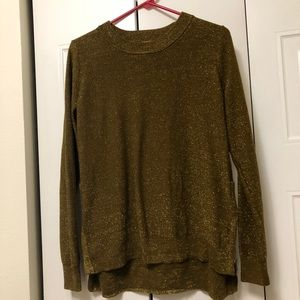 Olive Sparkly Sweater